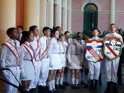 23 de octubre: estudiantes del CNC solicitan a Abdo remodelación de institución