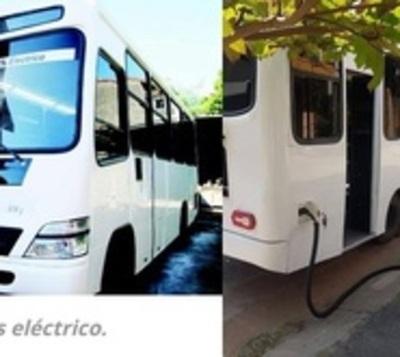 Bus 100 % eléctrico es fabricado en Paraguay