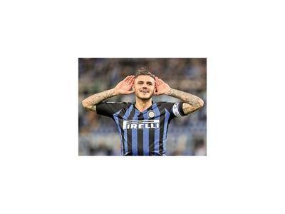 Goleada del Inter con doblete de Icardi