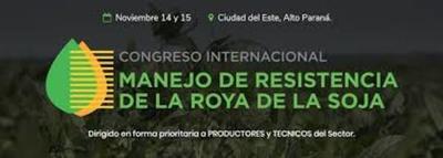 Organizan Congreso Internacional de la Roya de la Soja