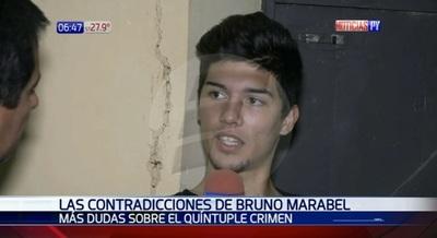 Las contradicciones de Bruno Marabel sobre caso de masacre en el microcentro
