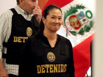 "Keiko Fujimori, ""sospechosa grave"" de liderar organización criminal"
