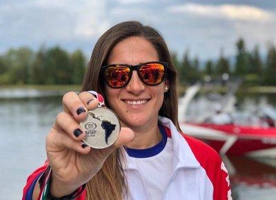 Ani Sisul se colgó la medalla de plata en México