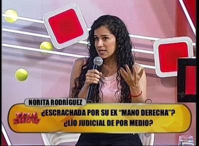 """Habló la ex mano derecha de Norita: """"Hasta ahora no me paga mi liquidación"""""""