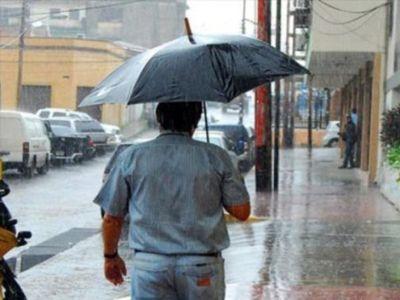 Alta probabilidad de lluvias intensas durante el fin de semana