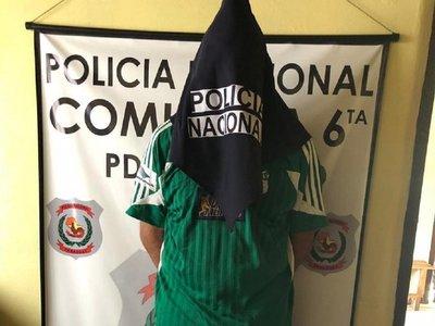 Jugador con orden de captura es detenido tras partido de fútbol