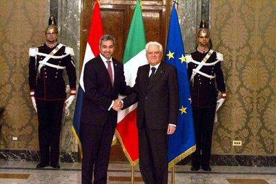 Presidente italiano acepta invitación para visitar Paraguay
