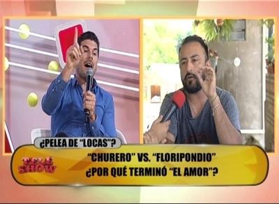"""""""El Churero """" y Carlos Viveros, a los gritos y sacando trapos sucios"""