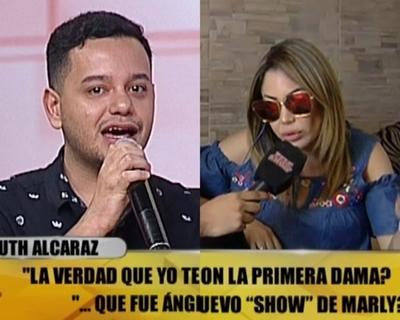 Fuerte pelea entre Ruth Alcaráz y Ángel Saracho