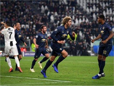 El United remonta y aplaza clasificación de Juventus
