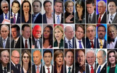 Funcionarios que abandonaron la Casa Blanca en lo que va del gobierno de Trump