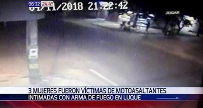 Violento asalto perpetrado por motochorros en Luque
