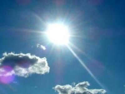 Ambiente caluroso y predominio del sol