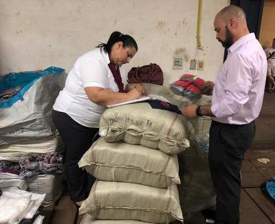 Decomisan prendas de vestir falsificados por USD 50.000
