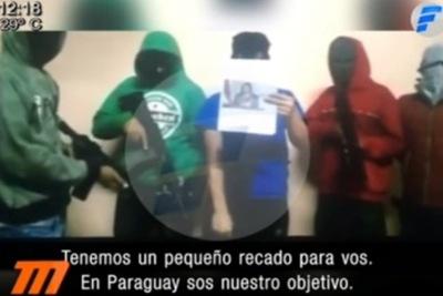 Tres criminales que amenazaron en video habrían sido abatidos
