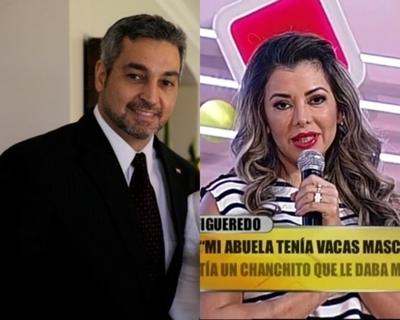 Presidente defendió a Marly Figueredo y rindió cuenta de visita al Papa