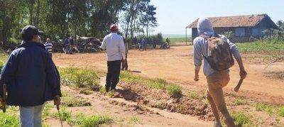 Campesinos y guardias a punto de enfrentarse en Pancholo, San Pedro