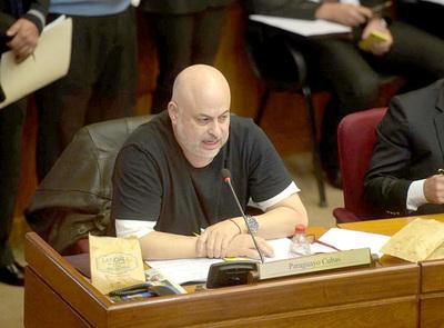 Senador Payo Cubas se salvó de otro pedido de desafuero