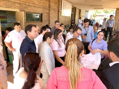 Invertirán unos G. 3.500 millones en hospitales públicos de Alto Paraná