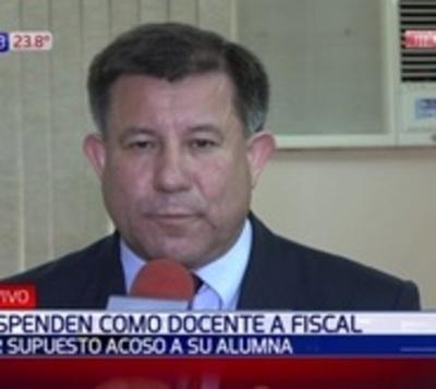 Fiscal denunciado por acoso se defiende y apunta a excolega