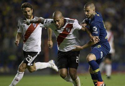 A la misma hora, Independiente-Olimpia y Boca-River