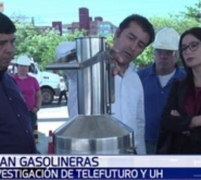 Controlan carga de gasolineras tras supuesta irregularidad