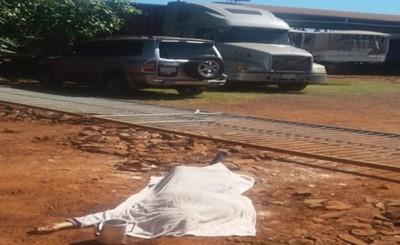 Mujer muere aplastada por un portón
