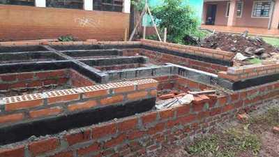Comuna de Mayor Otaño construye sanitarios en institución educativa