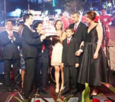 Mario Abdo Benítez festeja su primer cumpleaños como presidente
