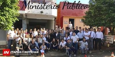 FUNCIONARIOS FISCALES BRINDAN DATOS SOBRE LA CRÍTICA SITUACIÓN EN ITAPÚA.