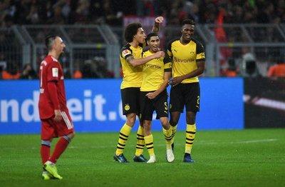 Dortmund remonta al Bayern en el 'Klassiker' de la Bundesliga