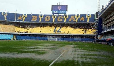 Lluvia obliga a postergar final de la Libertadores