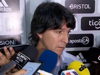 Garnero habló tras el empate en Pedro Juan Caballero