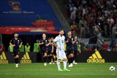 Argentina cayó ante Croacia
