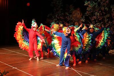"""Colorida y divertida clausura de año de """"The CCPA School"""""""