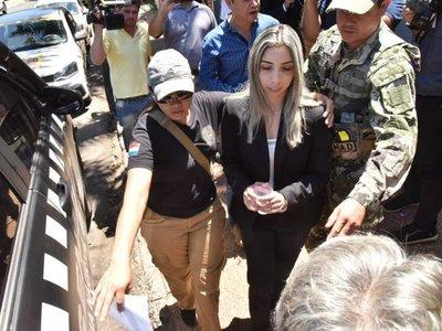 """Cuñada de Freddy D'Ecclesiis: """"No me dedico al narcotráfico"""""""