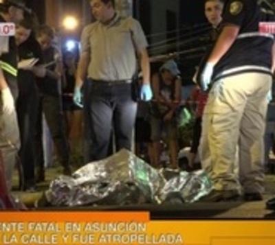 Cruzó Mariscal López 'sin prestar atención' y murió atropellado