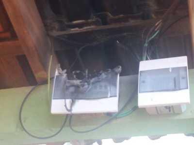 Principio de incendio causó susto en un colegio de Minga Guazú