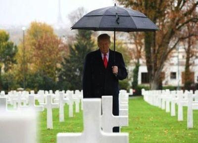 Trump fue el gran ausente del Foro de la Paz en Francia