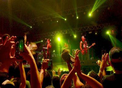 Desbordaron de punk rock el Casco Antiguo