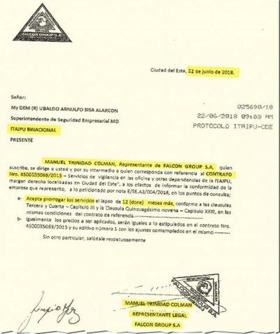 Diputado proveyó servicios a Itaipú durante su campaña y hasta junio
