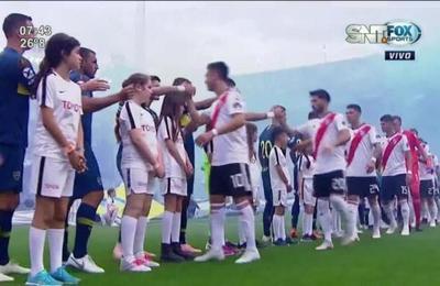 Boca y River empataron en la primera final de la Libertadores