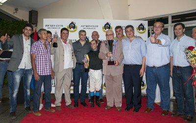 Jhonnie El Grande ganó el premio principal de la fecha 37