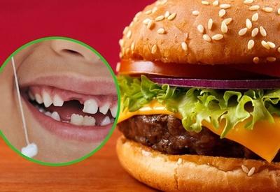 Hallan dientes humanos en hamburguesa de McDonald's