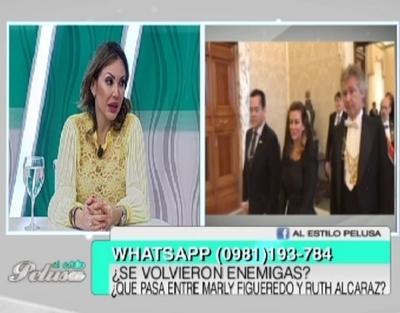 La tajante opinión de Ruth sobre el escándalo de Marly Figueredo en el vaticano