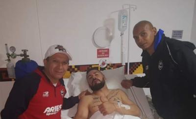 HOY / Termina el partido ingresado en un hospital