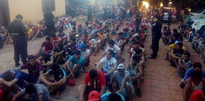 Fiscalía imputó a barras de Cerro Porteño que habrían atacado a policías