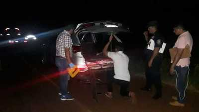Bandidos fuertemente armados robaron un millonario botín