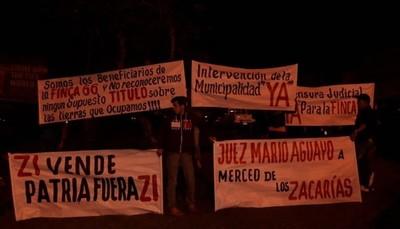 Retoman hoy escraches en el Km 3.5 de Ciudad del Este contra el clan ZI