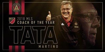 """""""Tata"""" Martino, entrenador del año en la MLS"""